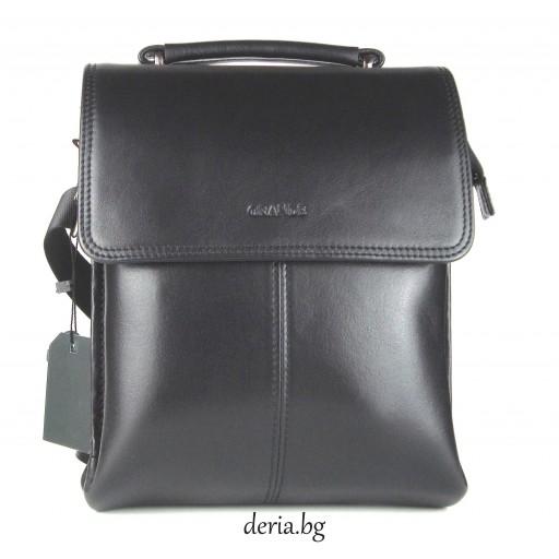 мъжка чанта Grande К 4260-черна