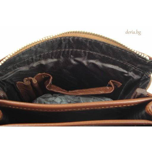 мъжка чанта Grande К 4264-кафява