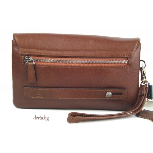 мъжка чанта Grande К 4271/чанта/-светло кафява