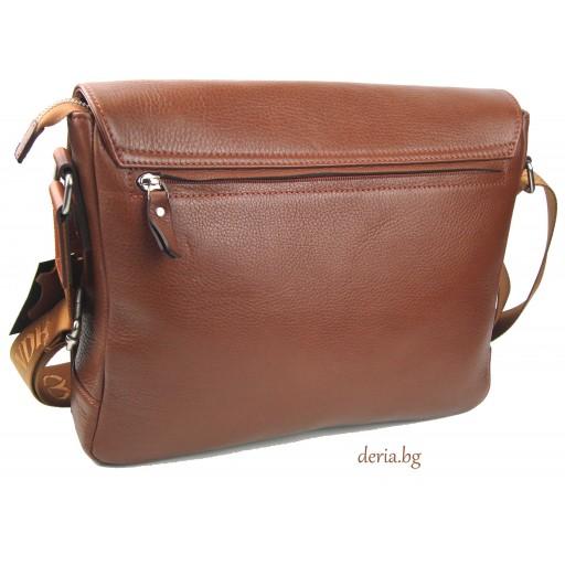чанта Grande К 4253-светло кафява