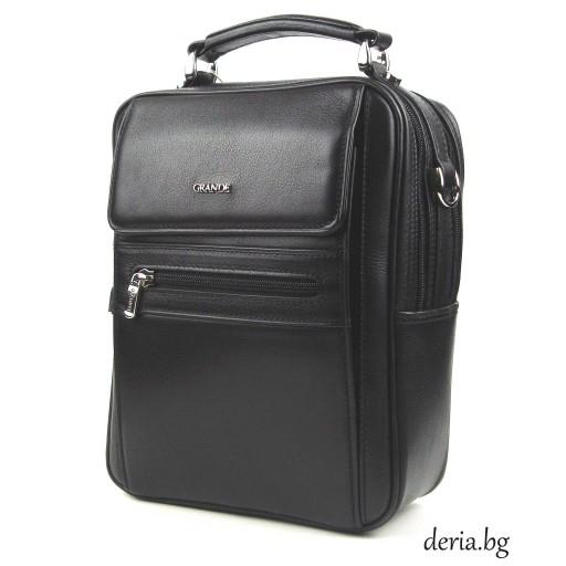 мъжка чанта Grande К 4589-черна