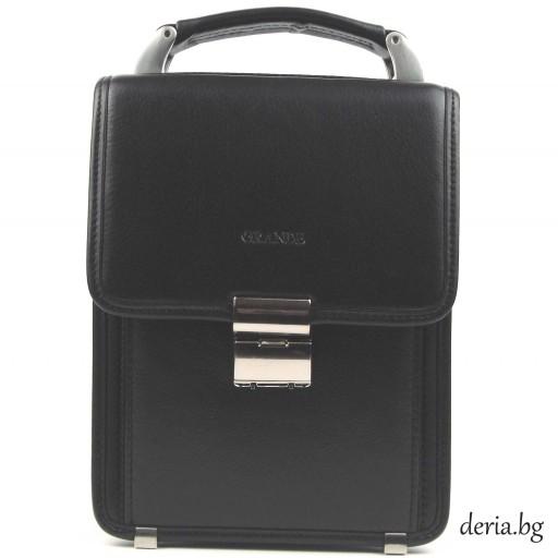 мъжка чанта Grande К 4170-черна
