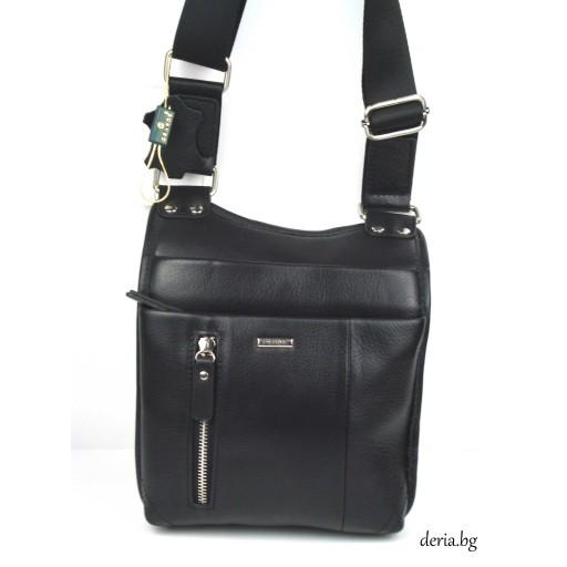 мъжка чанта Grande К 6552-черна
