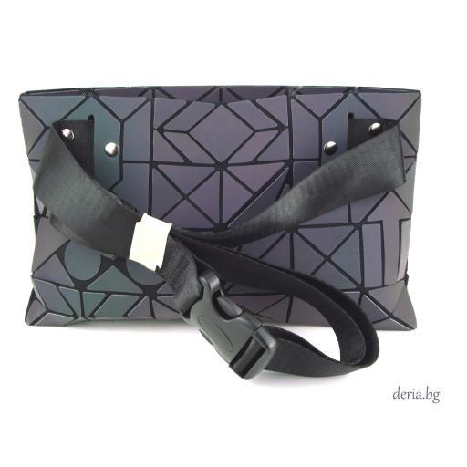 Дамска чанта за кръст -хамелеон М 01013