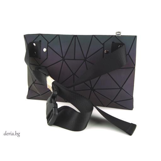Дамска чанта за кръст -хамелеон М 01012