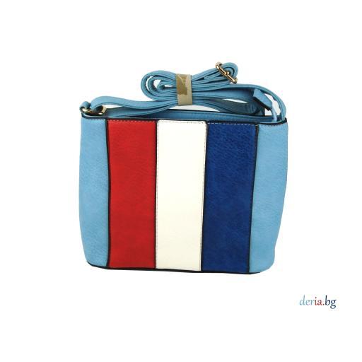 Дамска малка чанта, многоцветна-А 9268