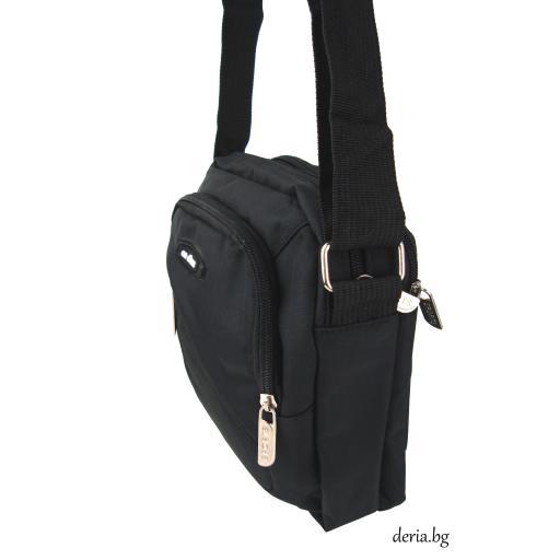 Мъжка чанта от плат с дълга дръжка-F 8496