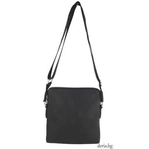 Мъжка чанта с цип и дълга дръжка-М 170-2