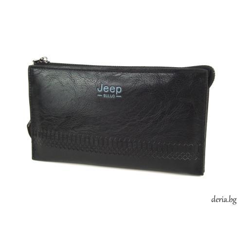 Мъжка чанта за ръка-М 619 черна