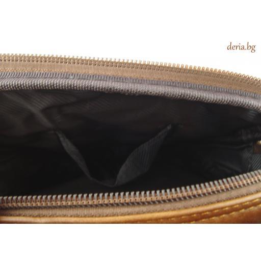 Мъжка чанта от естествена кожа 8802