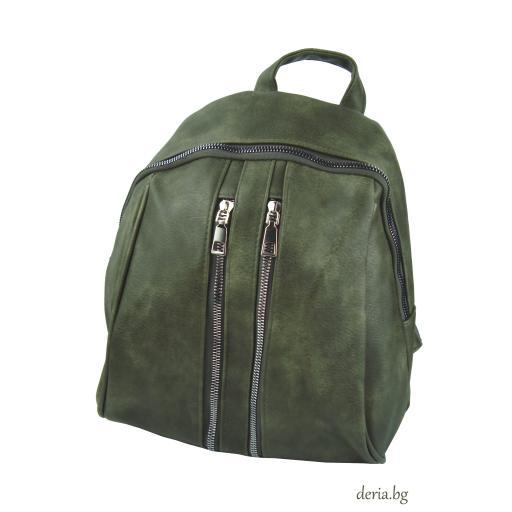 Дамска раница R 479-зелена
