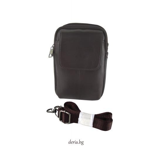 Мъжка малка чанта от естествена кожа M 2511