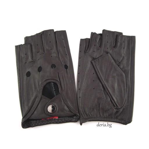 шофьорски кожени ръкавици-кафяви