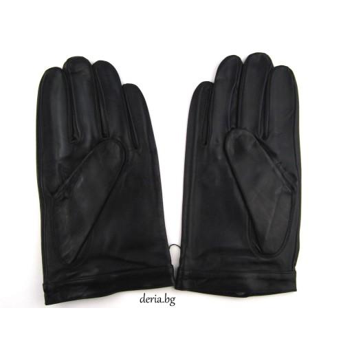 мъжки кожени ръкавици за шофиране 1