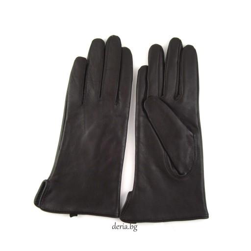дамски ръкавици 112-тъмно кафяви