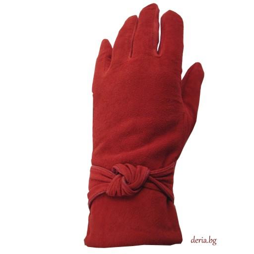 дамски ръкавици 409-червени