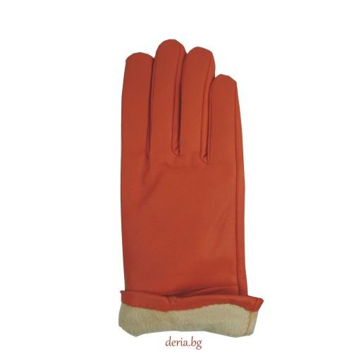 дамски ръкавици 302-оранжеви