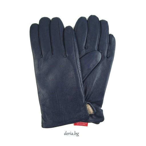 мъжки ръкавици 119-тъмно сини
