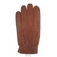 мъжки кожени ръкавици 311-кафяви