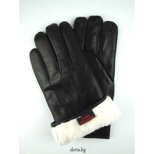 мъжки ръкавици 170-с хастар от заек