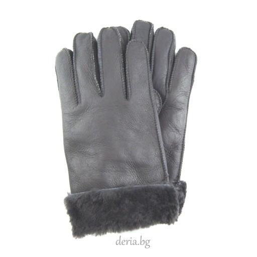 мъжки ръкавици  сиви