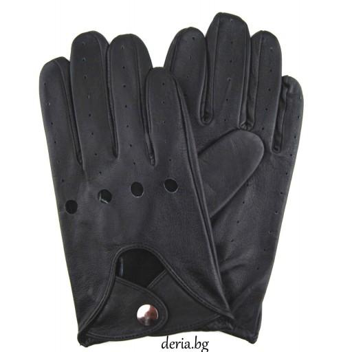 мъжки кожени ръкавици за шофиране