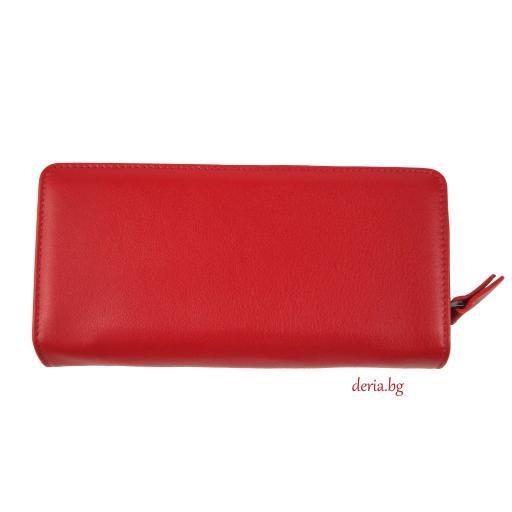 Дамски портфейл Grande K 2726-червен