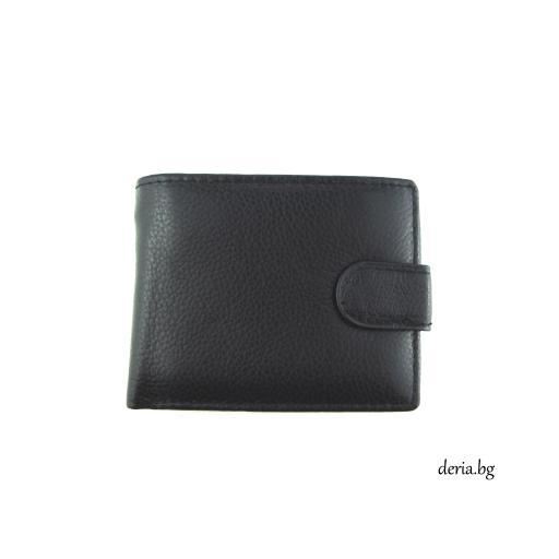 малък мъжки портфейл от естествена кожа