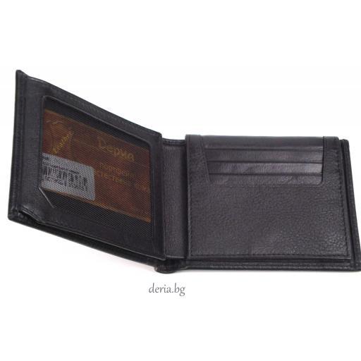 мъжки портфейл Grande 1530-черен