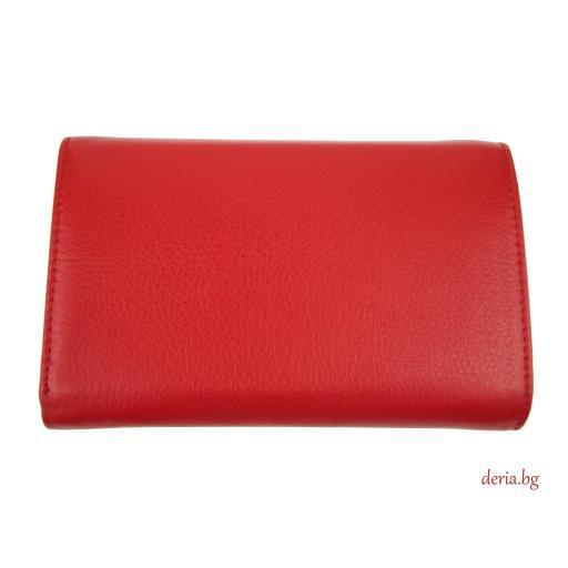 Дамски портфейл Grande K 2628-червен